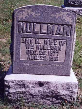 KULLMAN, AMY M. - Noble County, Ohio | AMY M. KULLMAN - Ohio Gravestone Photos