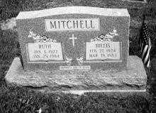 MITCHELL, HILLIS - Noble County, Ohio | HILLIS MITCHELL - Ohio Gravestone Photos