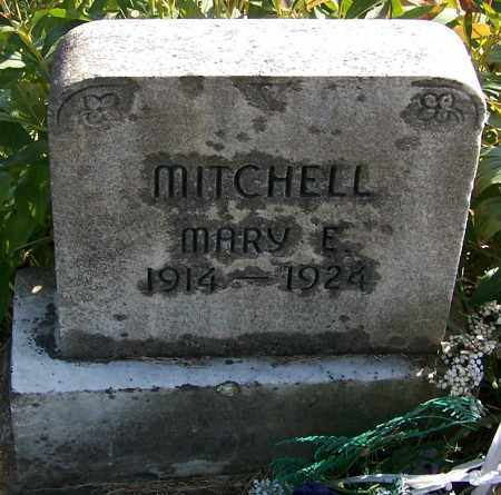 MITCHELL, MARY E. - Noble County, Ohio | MARY E. MITCHELL - Ohio Gravestone Photos