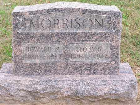 MORRISON, HOWARD M - Noble County, Ohio | HOWARD M MORRISON - Ohio Gravestone Photos