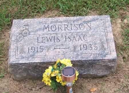 MORRISON, LEWIS ISAAC - Noble County, Ohio | LEWIS ISAAC MORRISON - Ohio Gravestone Photos