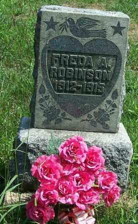 ROBINSON, FREDA A. - Noble County, Ohio | FREDA A. ROBINSON - Ohio Gravestone Photos
