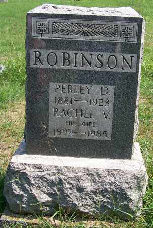 ROBINSON, RACHEL V. - Noble County, Ohio | RACHEL V. ROBINSON - Ohio Gravestone Photos