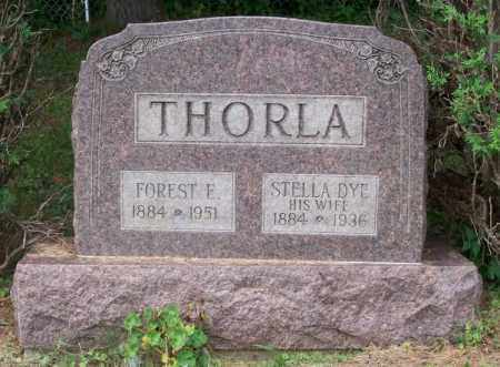 DYE THORLA, STELLA - Noble County, Ohio | STELLA DYE THORLA - Ohio Gravestone Photos