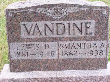 VANDINE, SAMANTHA A - Noble County, Ohio | SAMANTHA A VANDINE - Ohio Gravestone Photos