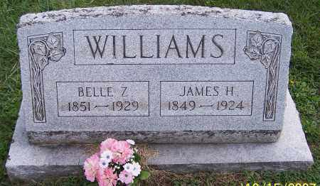 WILLIAMS, BELLE Z. - Noble County, Ohio | BELLE Z. WILLIAMS - Ohio Gravestone Photos