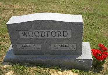 WOODFORD, ELSIE - Noble County, Ohio | ELSIE WOODFORD - Ohio Gravestone Photos