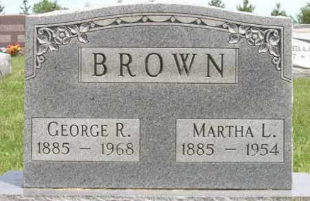 BROWN, MARTHA L. - Ottawa County, Ohio | MARTHA L. BROWN - Ohio Gravestone Photos
