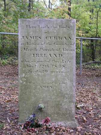 CURRAN, JAMES - Ottawa County, Ohio | JAMES CURRAN - Ohio Gravestone Photos