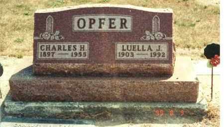 OPFER, LUELLA J - Ottawa County, Ohio | LUELLA J OPFER - Ohio Gravestone Photos