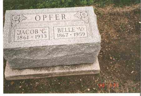 WYATT OPFER, BELLE V - Ottawa County, Ohio | BELLE V WYATT OPFER - Ohio Gravestone Photos