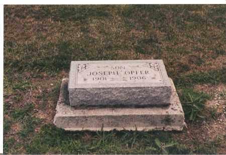OPFER, JOSEPH - Ottawa County, Ohio   JOSEPH OPFER - Ohio Gravestone Photos