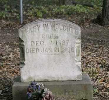 WOLCOTT, HENRY W. - Ottawa County, Ohio   HENRY W. WOLCOTT - Ohio Gravestone Photos