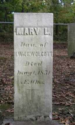 WOLCOTT, MARY L. - Ottawa County, Ohio | MARY L. WOLCOTT - Ohio Gravestone Photos