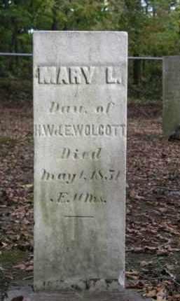 WOLCOTT, MARY L. - Ottawa County, Ohio   MARY L. WOLCOTT - Ohio Gravestone Photos