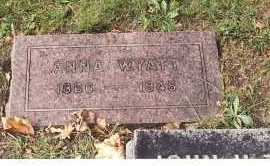 SNYDER WYATT, ANNA - Ottawa County, Ohio | ANNA SNYDER WYATT - Ohio Gravestone Photos