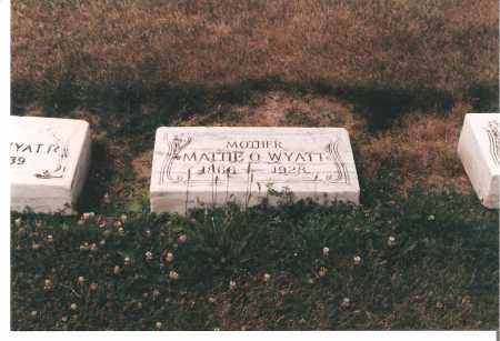 WYATT, MATTIE - Ottawa County, Ohio | MATTIE WYATT - Ohio Gravestone Photos