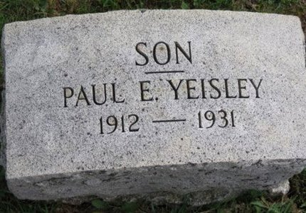 YEISLEY, PAUL E. - Ottawa County, Ohio | PAUL E. YEISLEY - Ohio Gravestone Photos