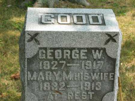 GOOD, GEORGE W. - Paulding County, Ohio | GEORGE W. GOOD - Ohio Gravestone Photos