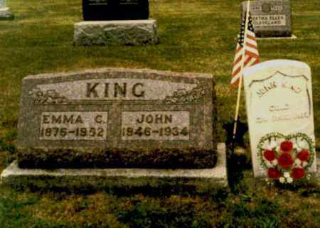KING, JOHN - Paulding County, Ohio | JOHN KING - Ohio Gravestone Photos