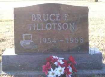 TILLOTSON, BRUCE - Paulding County, Ohio | BRUCE TILLOTSON - Ohio Gravestone Photos