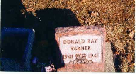 VARNER, DONALD - Paulding County, Ohio | DONALD VARNER - Ohio Gravestone Photos