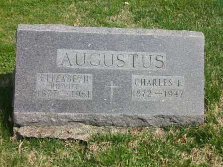 AUGUSTUS, CHARLES E. - Perry County, Ohio | CHARLES E. AUGUSTUS - Ohio Gravestone Photos