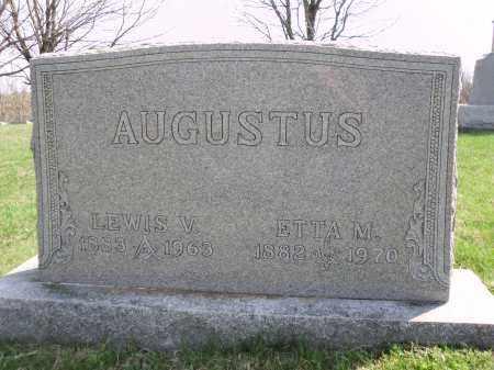 DAVIS AUGUSTUS, ETTA M. - Perry County, Ohio | ETTA M. DAVIS AUGUSTUS - Ohio Gravestone Photos