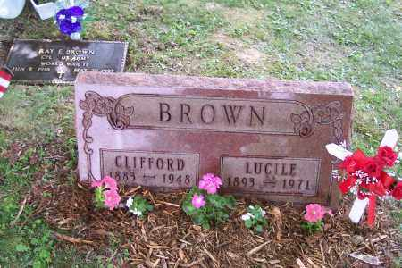 HARRISON BROWN, LUCILE - Perry County, Ohio | LUCILE HARRISON BROWN - Ohio Gravestone Photos