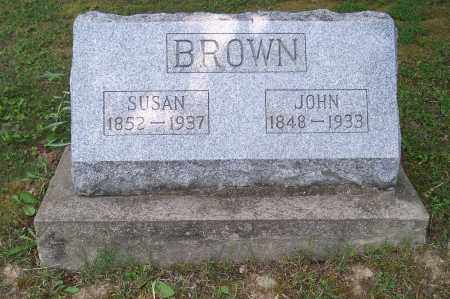 BROWN, SUSAN - Perry County, Ohio | SUSAN BROWN - Ohio Gravestone Photos