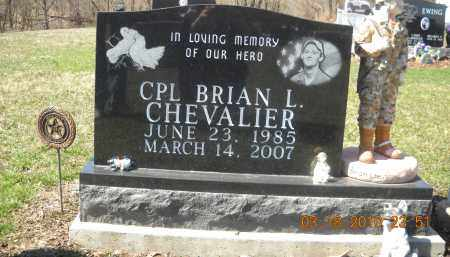CHEVALIER, BRIAN - Perry County, Ohio | BRIAN CHEVALIER - Ohio Gravestone Photos