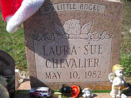 CHEVALIER, LAURA - Perry County, Ohio | LAURA CHEVALIER - Ohio Gravestone Photos