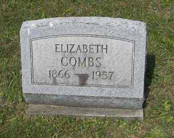 COMBS, ELIZABETH - Perry County, Ohio | ELIZABETH COMBS - Ohio Gravestone Photos