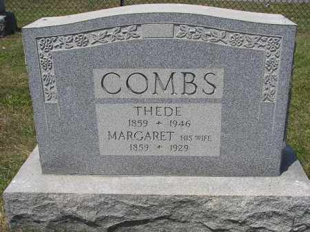 COMBS, MARGARET - Perry County, Ohio | MARGARET COMBS - Ohio Gravestone Photos