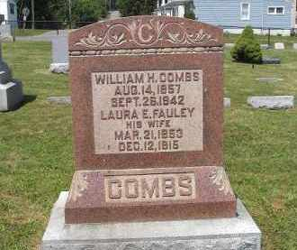 FAULEY COMBS, LAURA - Perry County, Ohio | LAURA FAULEY COMBS - Ohio Gravestone Photos