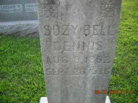 DENNIS, SUZY BELL - Perry County, Ohio | SUZY BELL DENNIS - Ohio Gravestone Photos