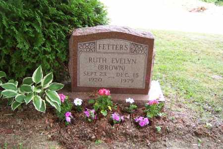BROWN FETTERS, RUTH - Perry County, Ohio | RUTH BROWN FETTERS - Ohio Gravestone Photos
