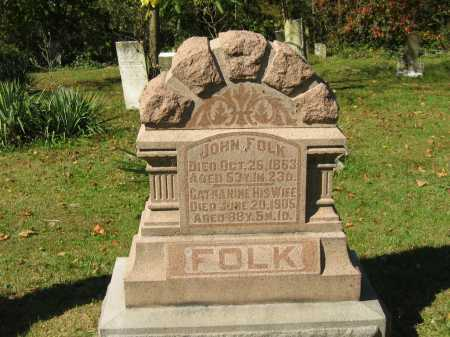 FOLK, CATHERINE - Perry County, Ohio | CATHERINE FOLK - Ohio Gravestone Photos
