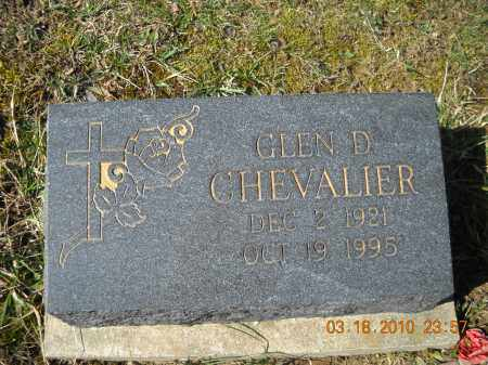 GLEN, CHEVALIER - Perry County, Ohio | CHEVALIER GLEN - Ohio Gravestone Photos