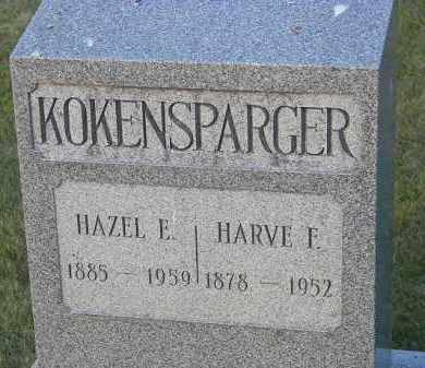 KOKENSPARGER, HAZEL E. - Perry County, Ohio | HAZEL E. KOKENSPARGER - Ohio Gravestone Photos