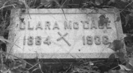 MCGONAGLE MCCABE, CLARA - Perry County, Ohio | CLARA MCGONAGLE MCCABE - Ohio Gravestone Photos