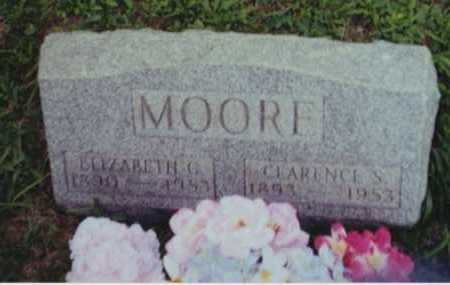 MOORE, ELIZABETH G - Perry County, Ohio | ELIZABETH G MOORE - Ohio Gravestone Photos