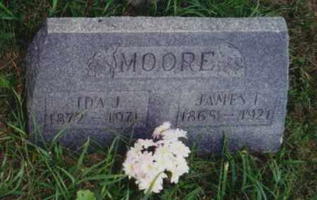 MOORE, IDA J - Perry County, Ohio | IDA J MOORE - Ohio Gravestone Photos