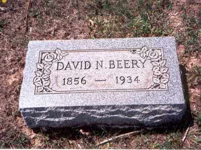 BEERY, DAVID N. - Pickaway County, Ohio | DAVID N. BEERY - Ohio Gravestone Photos