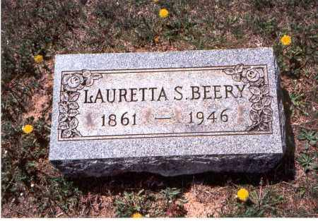 BEERY, LAURETTA S. - Pickaway County, Ohio | LAURETTA S. BEERY - Ohio Gravestone Photos