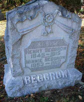 BEGGROW, MINNIE - Pickaway County, Ohio | MINNIE BEGGROW - Ohio Gravestone Photos