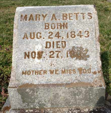 BETTS, MARY ANN - Pickaway County, Ohio | MARY ANN BETTS - Ohio Gravestone Photos