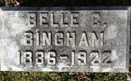 BINGHAM, BELLE - Pickaway County, Ohio | BELLE BINGHAM - Ohio Gravestone Photos