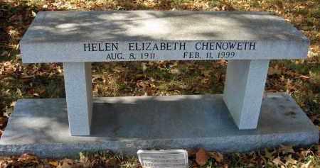 CHENOWETH, HELEN ELIZABETH - Pickaway County, Ohio | HELEN ELIZABETH CHENOWETH - Ohio Gravestone Photos