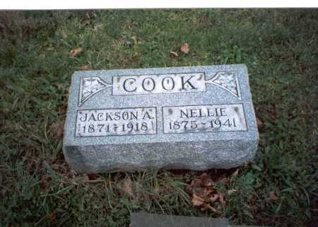 COOK, JACKSON A. - Pickaway County, Ohio | JACKSON A. COOK - Ohio Gravestone Photos